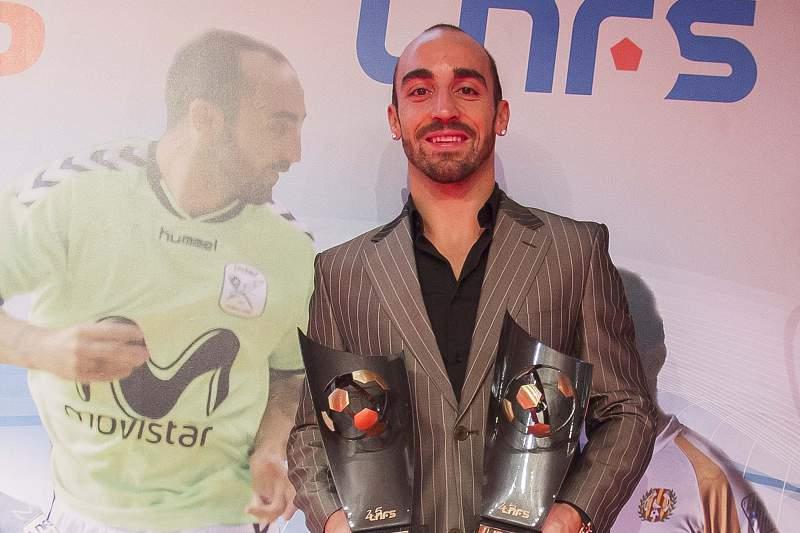 Ricardinho eleito melhor jogador do campeonato espanhol