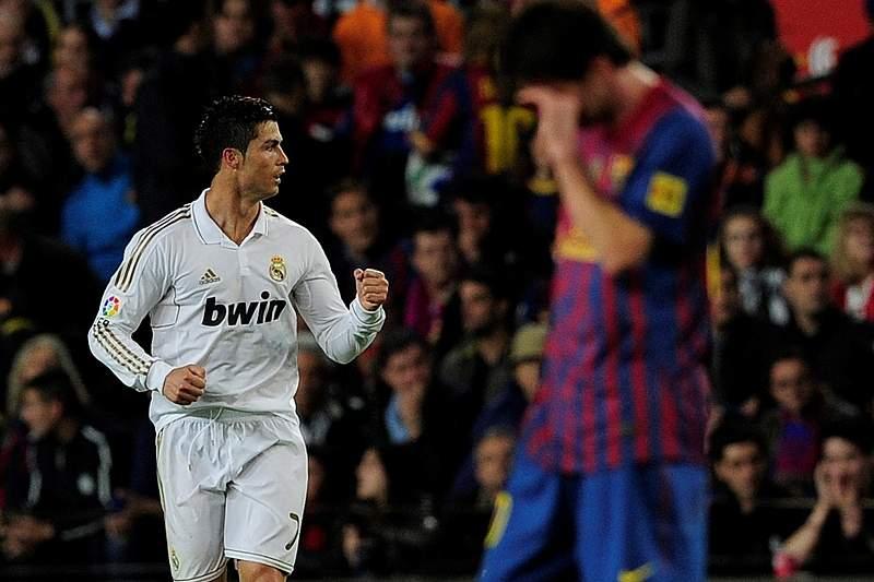 Ronaldo e Messi num Real-Barça