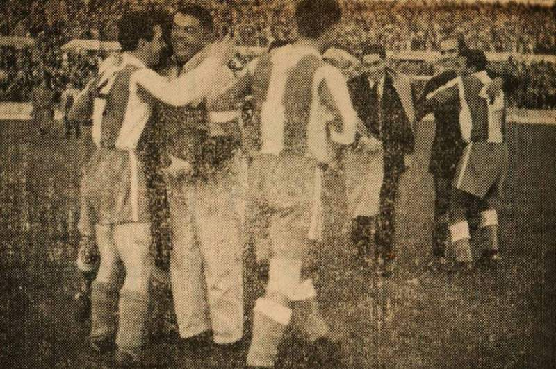 Benfica - FC Porto de há 60 anos