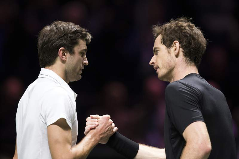 Gilles Simon e Andy Murray