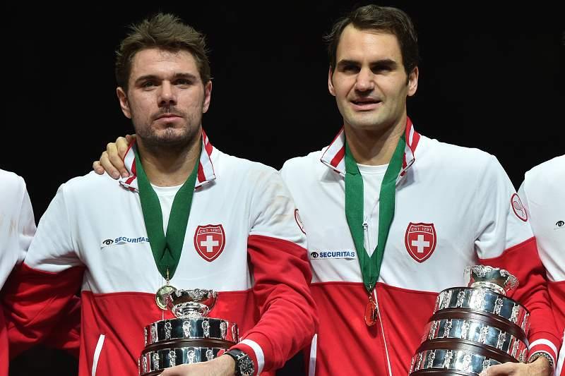Wawrinka e Federer