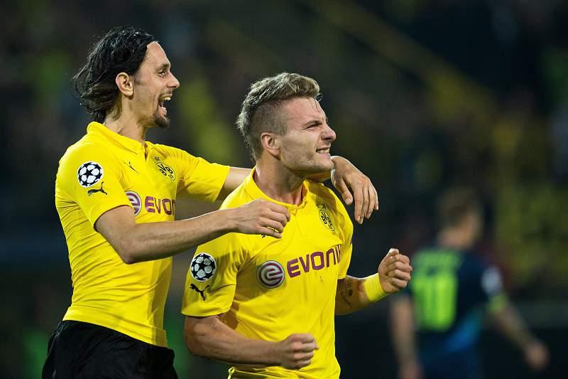 Dortmund festeja golo