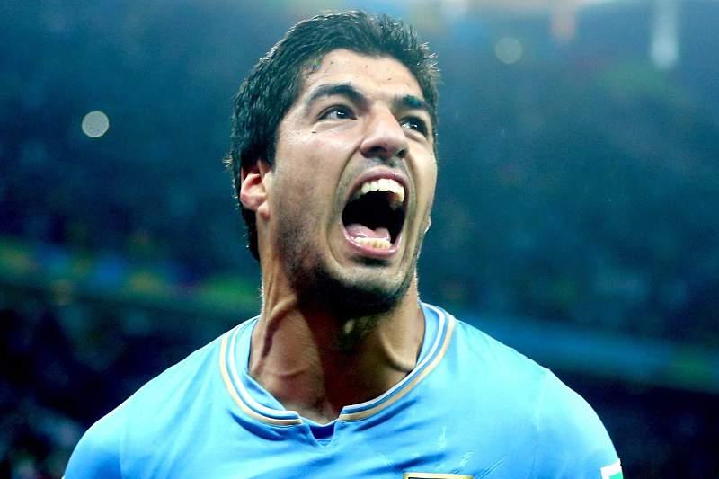 Suárez brilhou frente à Inglaterra