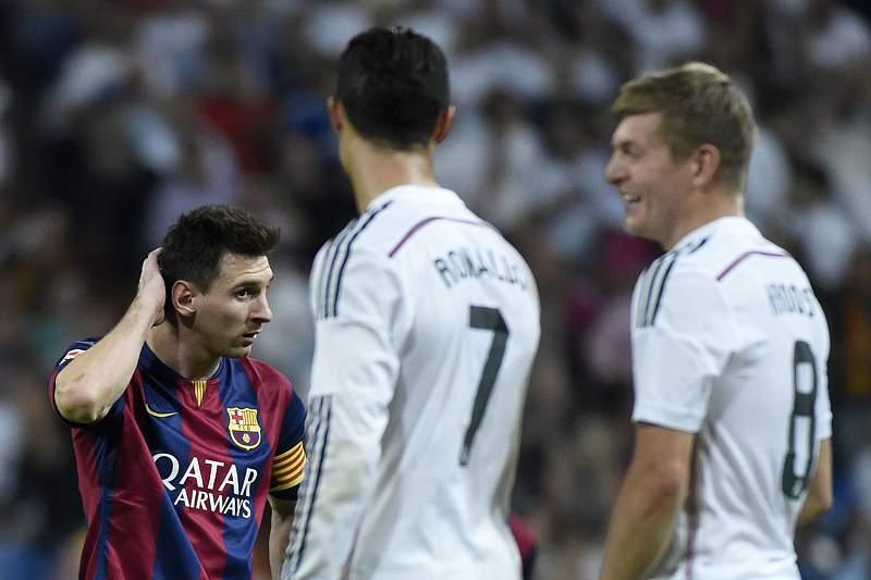 Messi, Ronaldo e Kroos
