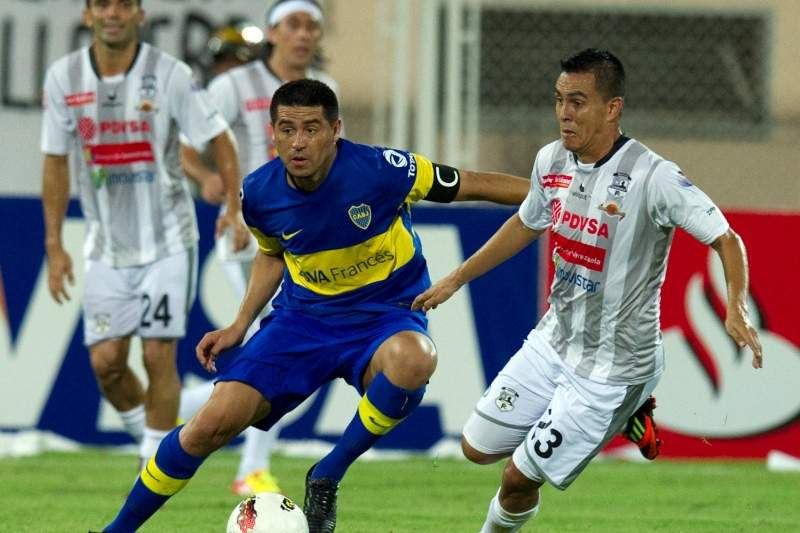 Riquelme, do Boca Juniores