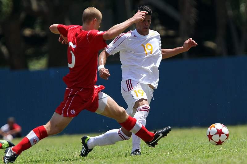 Jogo entre o Canadá e Cuba, em 2012