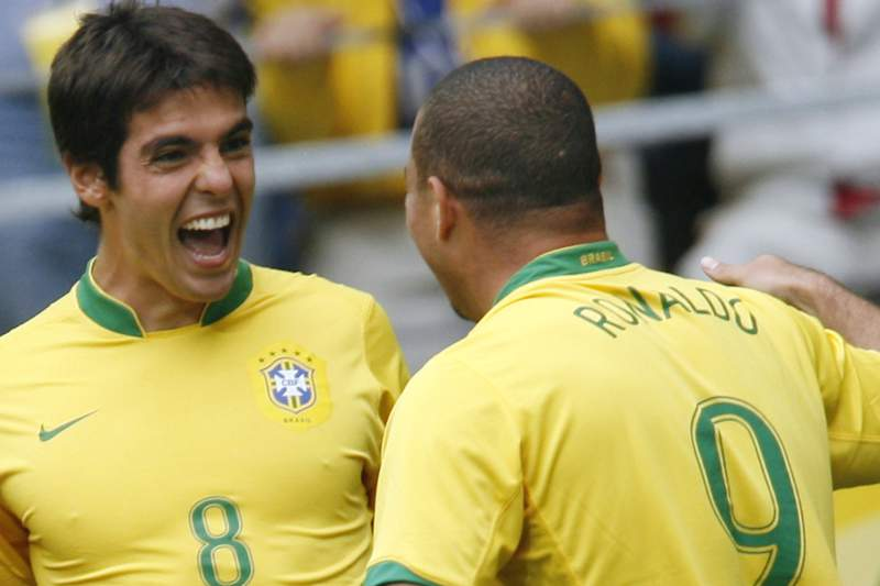 Kaká e Ronaldo