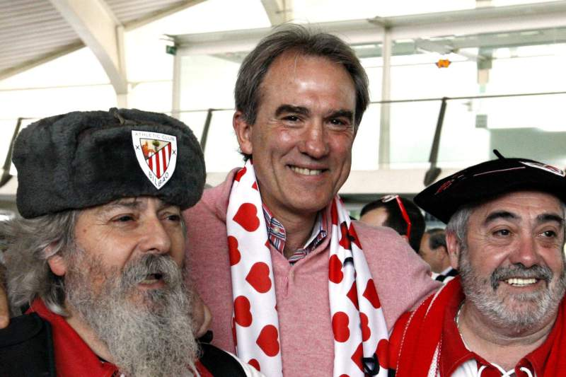 Goikoetxea, em 2012, ao serviço do Athletic de Bilbao