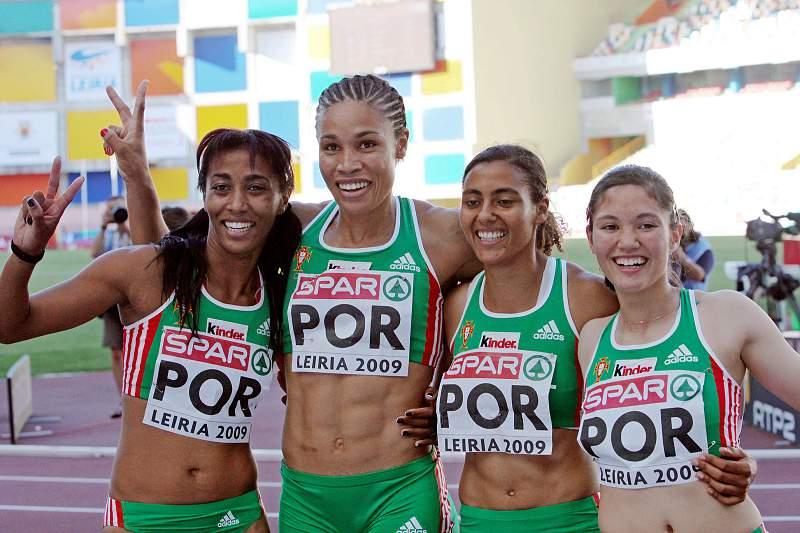 Seleção portuguesa dos 4x100 metros femininos