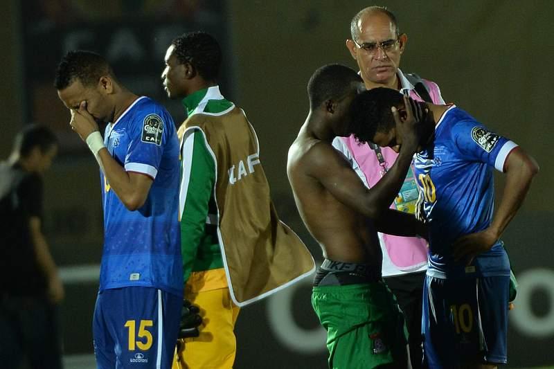 Cabo Verde empata e está fora do CAN2015