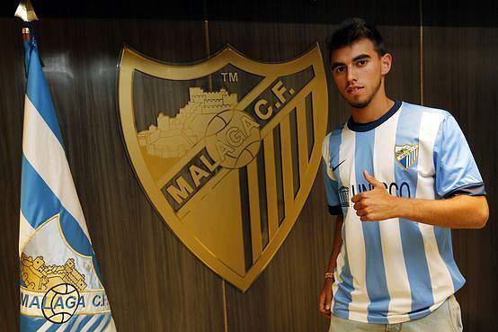 Ricardo Horta oficialmente apresentado no Málaga