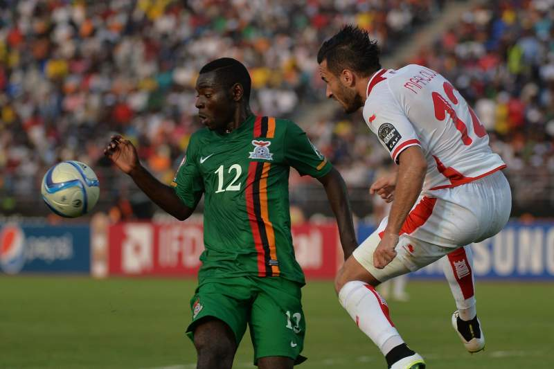Tunísia venceu a Zâmbia por 2-1