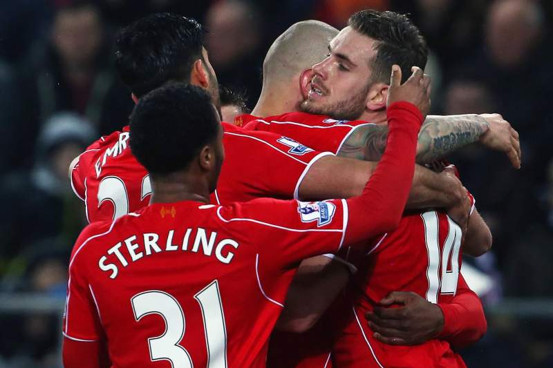 Festejos do Liverpool