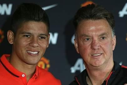 Rojo com Van Gaal
