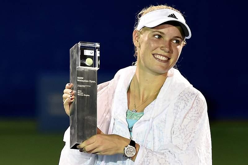 Caroline Wozniacki vence torneio de Kuala Lumpur
