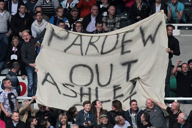 Adeptos do Newcastle