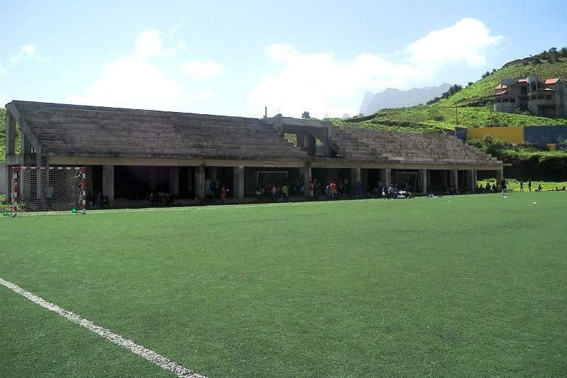 Estádio Cumbém, em Santa Catarina, Cabo Verde
