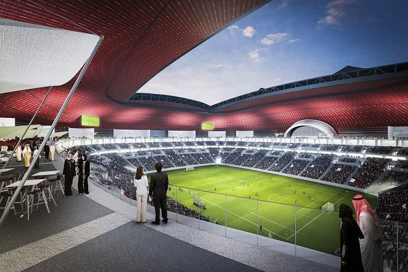 Estádio Al-Khor no Qatar