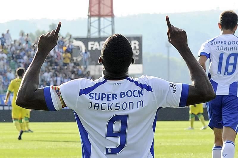 Jackson marca o primeiro golo na Mata Real