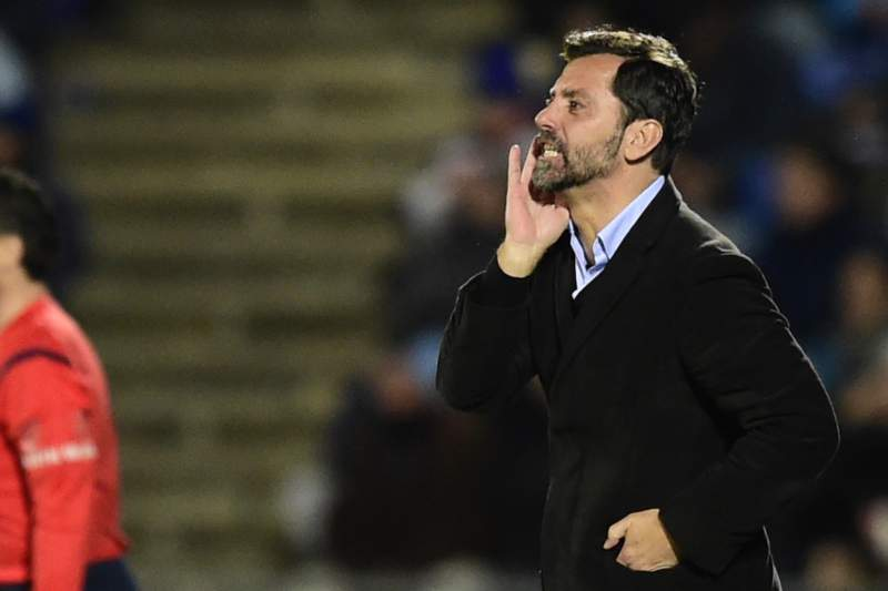 Quique Flores, treinador do Watford