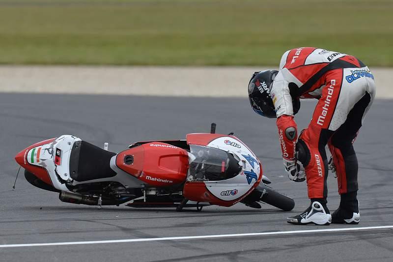 Miguel Oliveira despista-se
