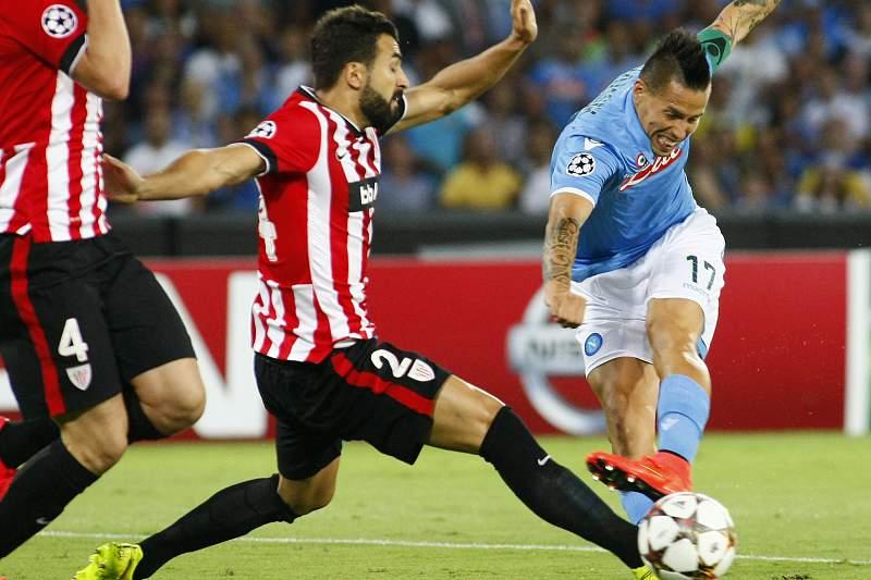 Athletic Bilbao eliminou o Nápoles