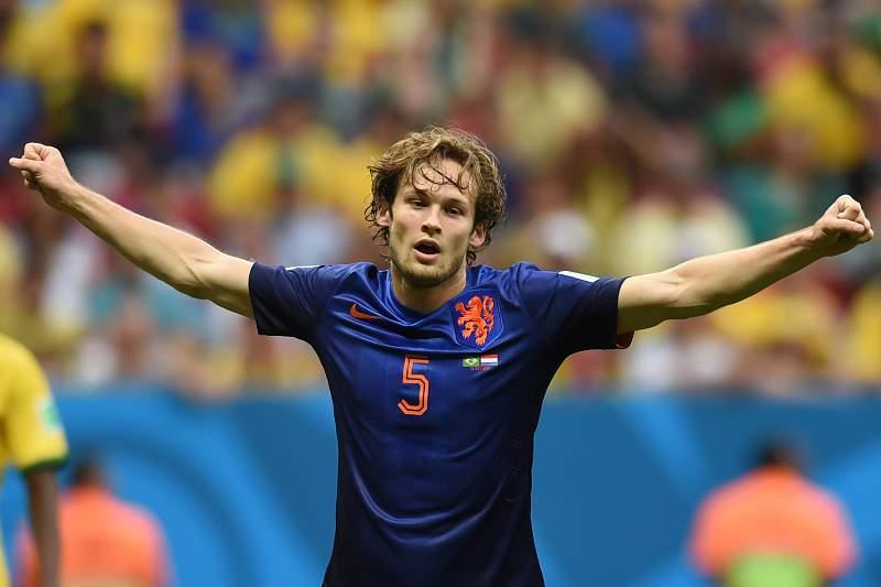 Daley Blind será orientado pelo pai na seleção da Holanda