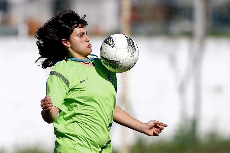 A aventura da adolescente Inês Silva na Algarve Cup