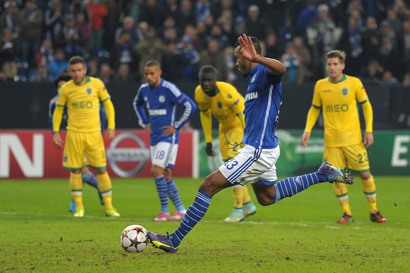 Sporting perdeu esta época com o Schalke04