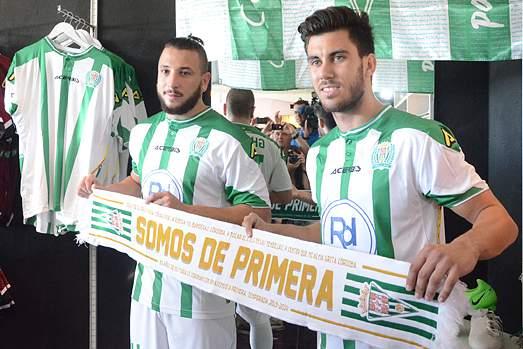 Ghilas apresentado no Córdoba