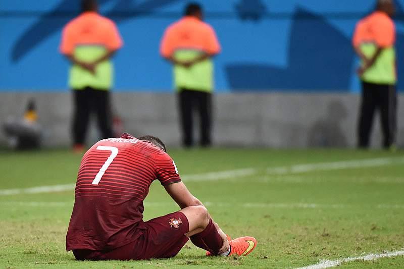 A tristeza de Ronaldo