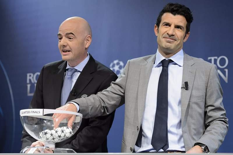 UEFA Champions League quarter-finals draw