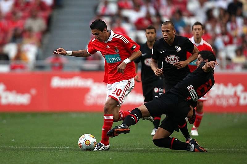 Di Maria quando estava no Benfica