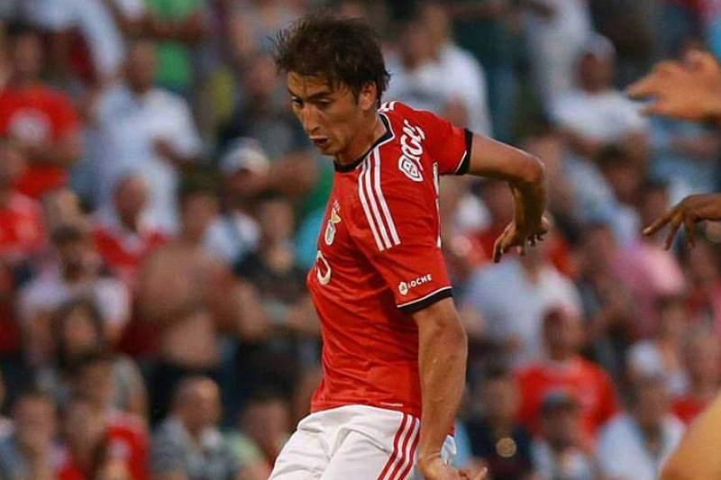 Djuricic com a camisola do Benfica