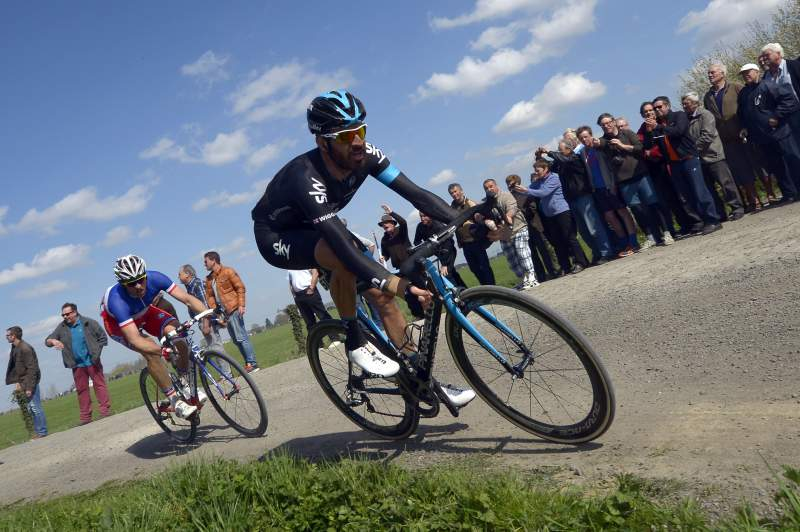 Ciclistas da Paris-Roubaix