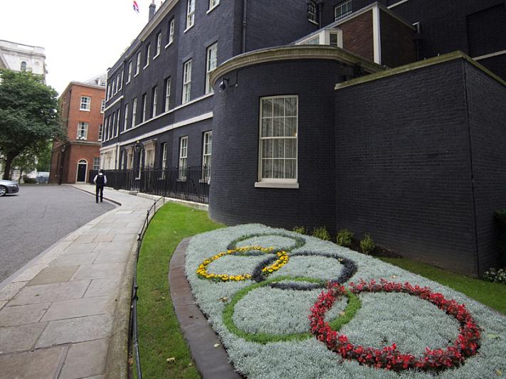 Cerimónia de abertura protegida pelo secretismo britânico