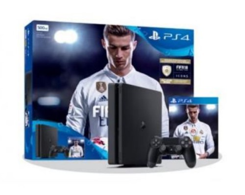 SONY PS4 1TB + FIFA 18 + PS PLUS 14D