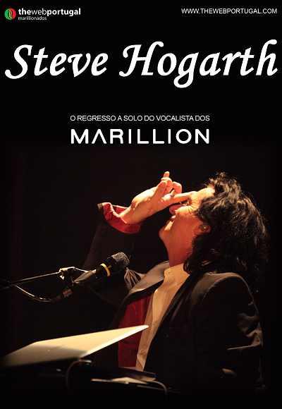 Steve Hogarth A Solo - A Voz Dos Marillion