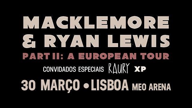 MACKLEMORE & RYAN LEWIS | PART II: A EUROPEAN TOUR