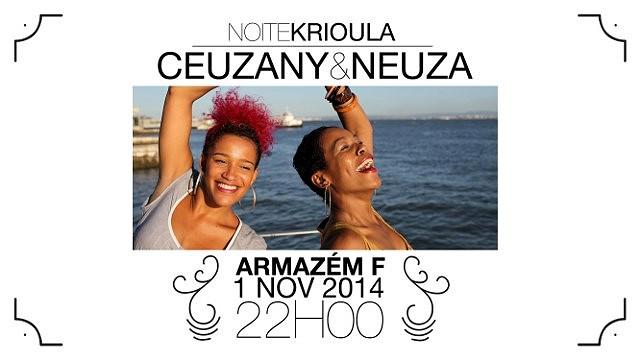 CEUZANY & NEUZA - EM NOITE KRIOULA