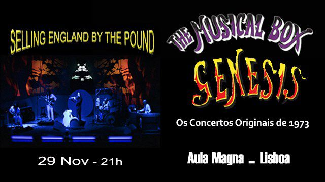 THE MUSICAL BOX  SELLING ENGLAND BY THE POUND TOUR