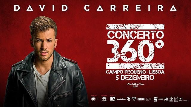 DAVID CARREIRA - EVOLUTION TOUR 2015