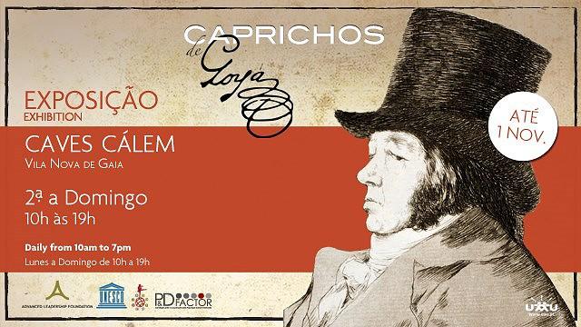 CAPRICHOS DE GOYA   EXPOSIÇÃO