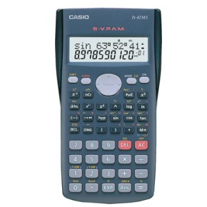 Calculadora Cientifica Casio FX82MS 240 Funcoes Ref CAS-FX82MS