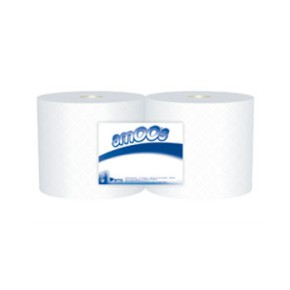 Rolo Papel Limpeza / Bobine Industrial   (600mts) 2 Rolos REF 6531027