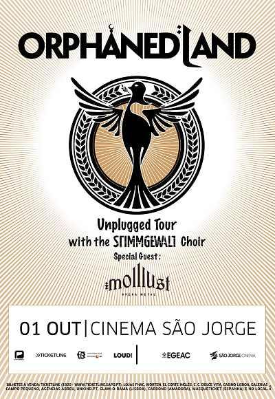 Orphaned Land Acoustic & The Stimmgewalt + Mollust