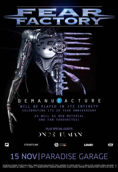 Fear Factory + Special Guests