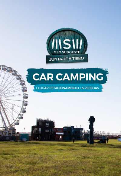 Meo Sudoeste 2016 - Car Camping