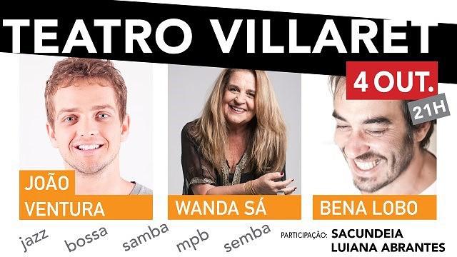 JOÃO VENTURA,WANDA SÁ, BENA LOBO,SACUNDEIA,LUIANA