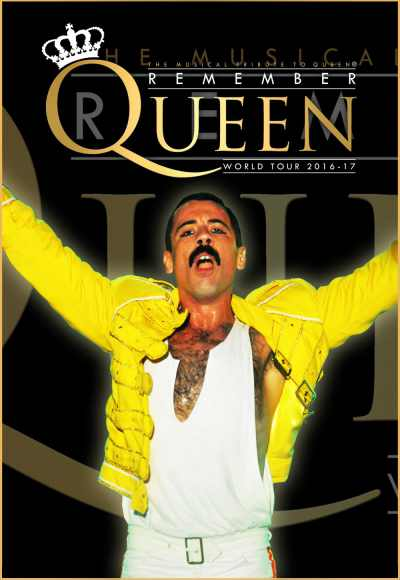 Remember Queen 25th Freddie Mercury - Memory Tour
